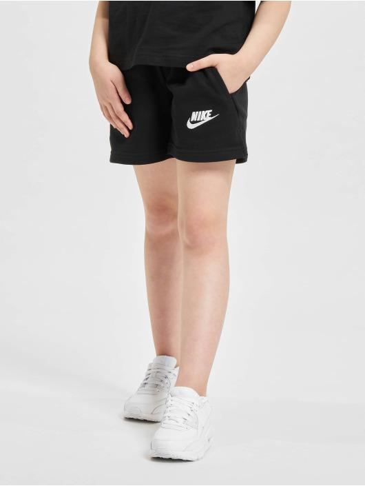 Nike Šortky Club Ft 5 In èierna