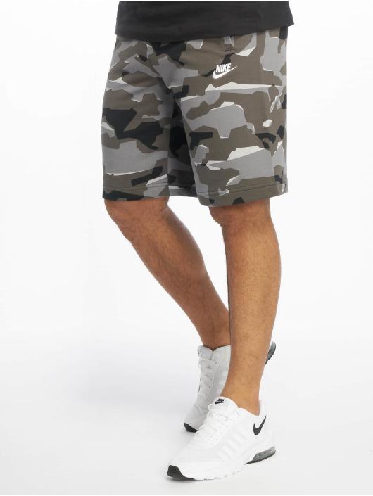 Nike Šortky Club Camo šedá