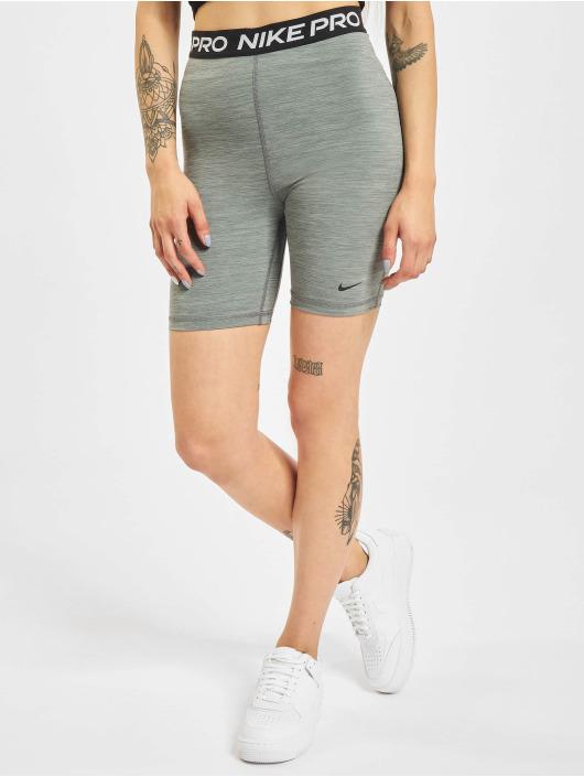 Nike Šortky 365 7in Hi Rise šedá