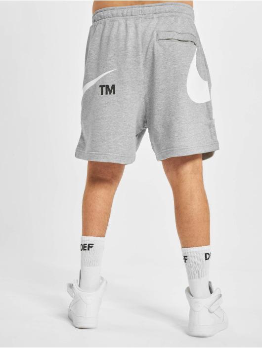Nike Šortky Swoosh šedá