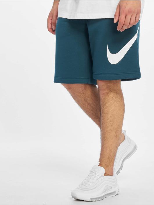 Nike Šortky Club EXP BB tyrkysový