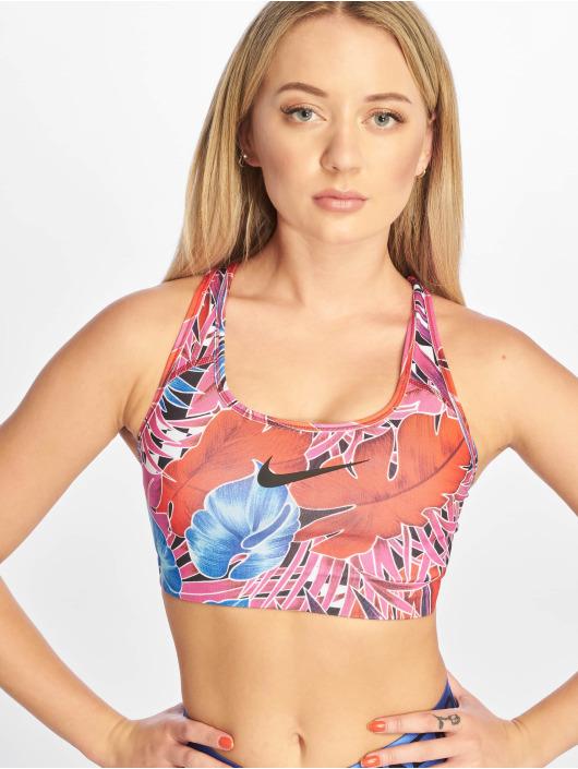 Nike Športová podprsenka Swoosh Hyp FM fialová
