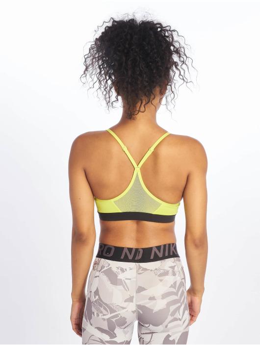 Nike Športová podprsenka Indy zelená