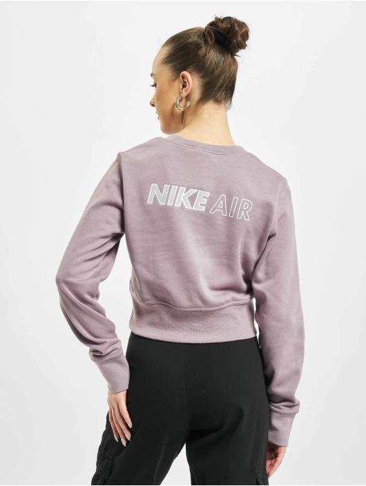 Nike Водолазка W Nsw Air пурпурный