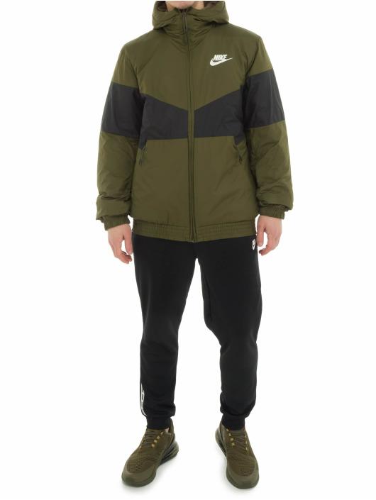 Nike Демисезонная куртка Air Jacket оливковый