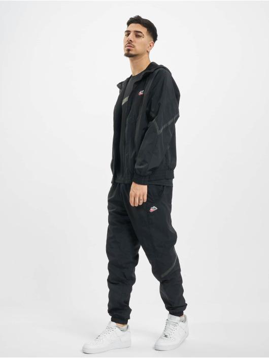 Nike Демисезонная куртка Nsw Hooded черный