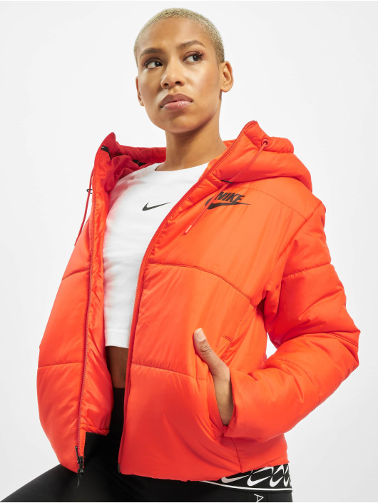 Nike Зимняя куртка Synthetic Fill HD оранжевый