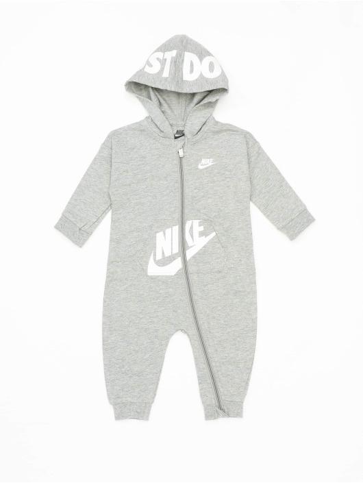 Nike Комбинезоны Nkn Hooded Baby Ft Coverall серый