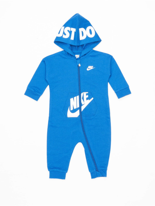 Nike Комбинезоны Nkn Hooded Baby Ft Coveral синий