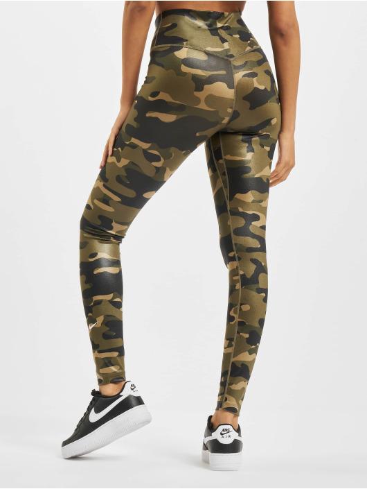 Nike Леггинсы One камуфляж
