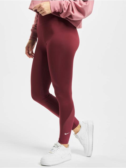 Nike Леггинсы 7/8 красный