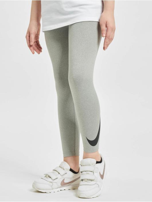 Nike Леггинсы Dri Fit Sport Essentials Swoosh серый