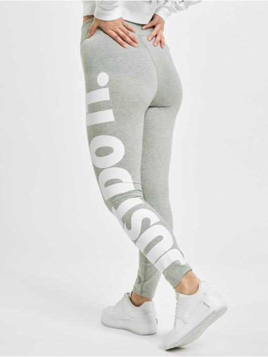 Nike Леггинсы Sportswear Essential GX HR серый
