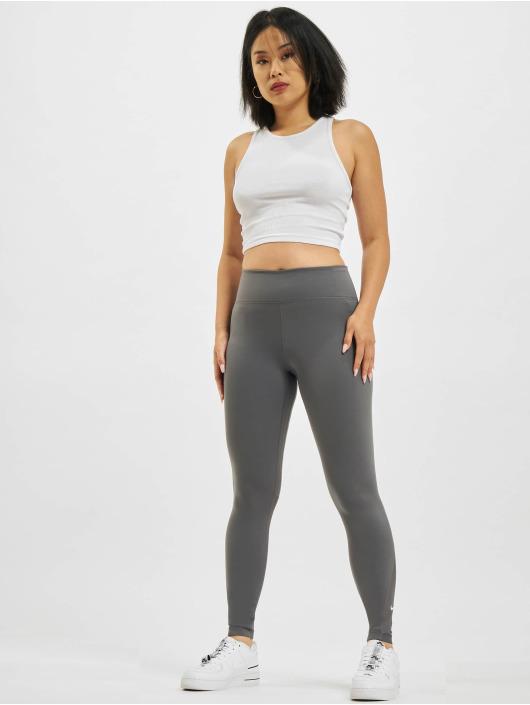 Nike Леггинсы One 7/8 серый