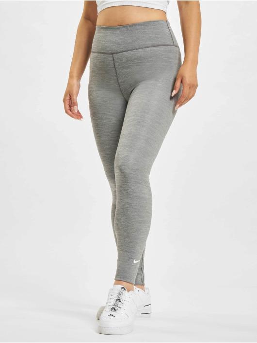 Nike Леггинсы One серый
