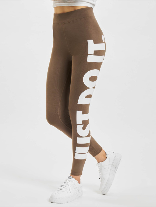 Nike Леггинсы Essential GX HR хаки