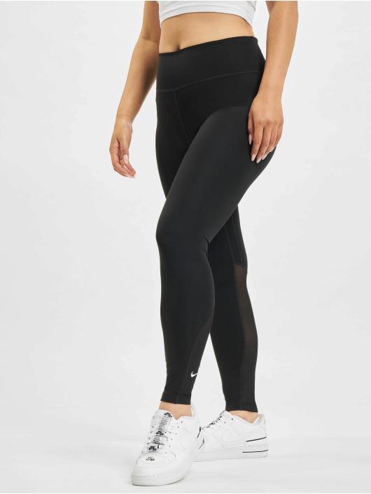 Nike Леггинсы One 7/8 черный
