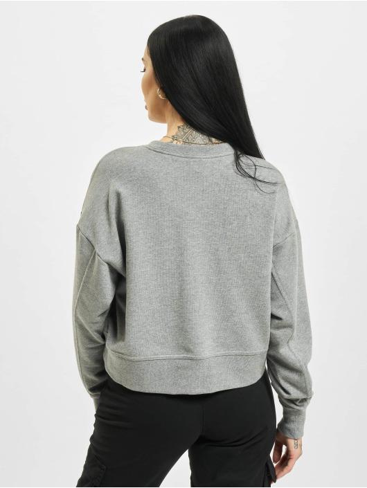 Nike Пуловер W Nk Dry Get Fit Crew Swsh серый