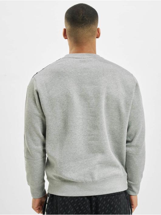 Nike Пуловер Fleece серый