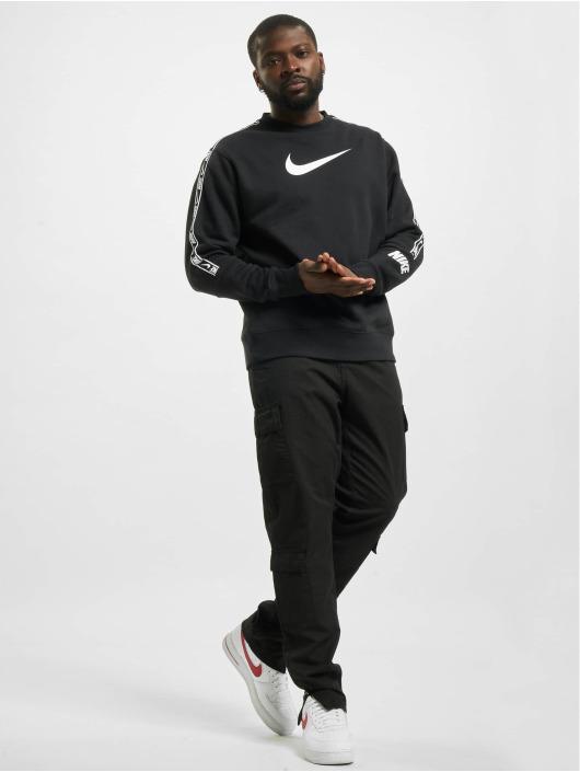 Nike Пуловер Fleece черный