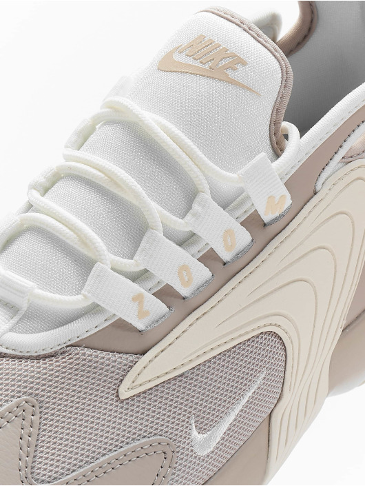 Nike Сникеры Zoom 2k бежевый