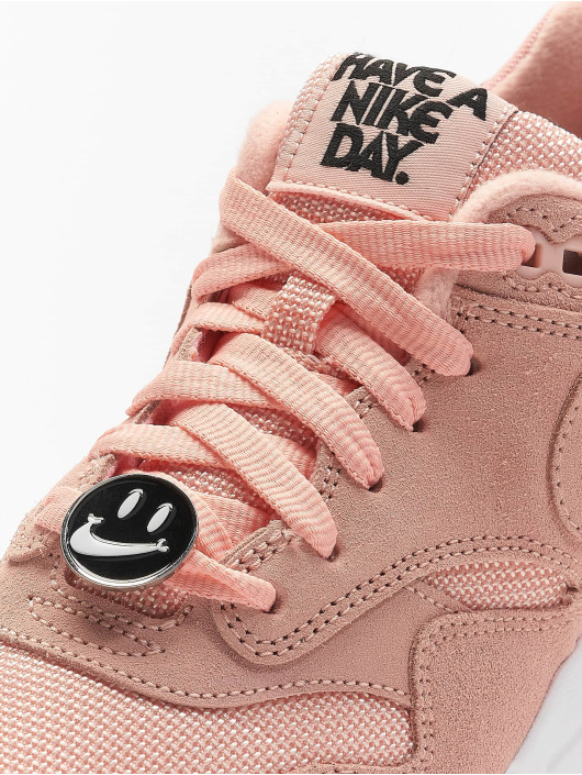 Nike Сникеры Air Max 1 оранжевый