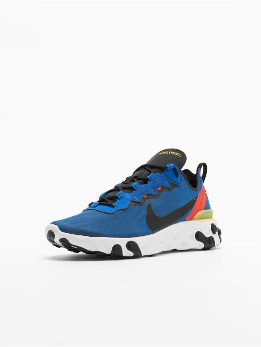 Nike Сникеры React Element 55 синий