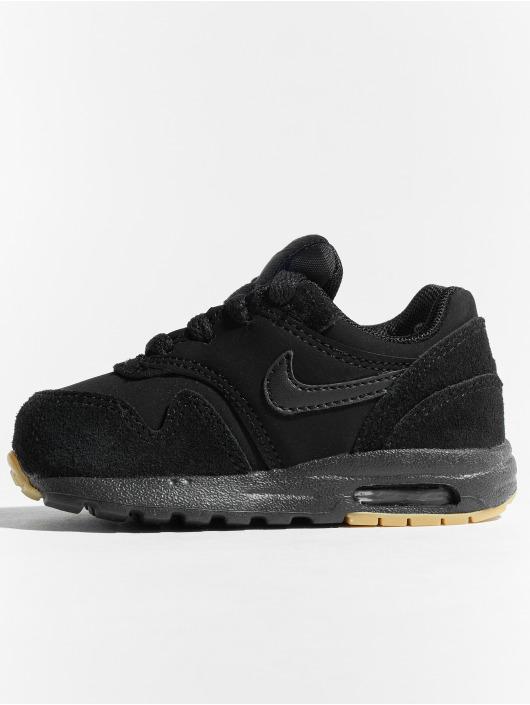 Nike Сникеры Air Max 1 черный