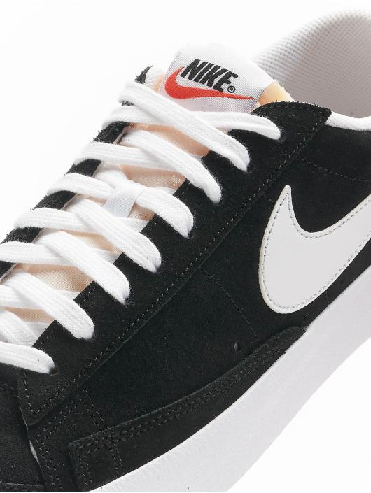 Nike Сникеры Blazer Low '77 Suede черный