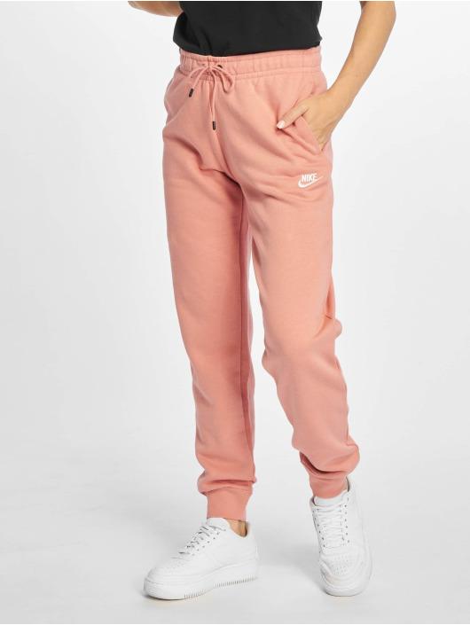 Nike Спортивные брюки Essential Regular Fleece розовый