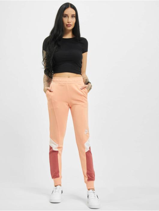 Nike Спортивные брюки W Nsw Heritage Jogger Flc Mr розовый
