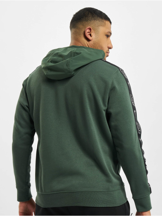 Nike Толстовка M Nsw Ce Po Ft Snl зеленый