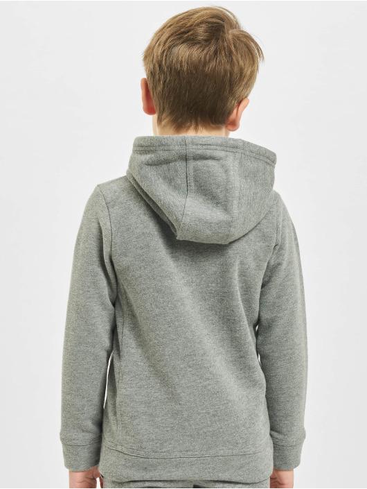 Nike Толстовка Club Fleece серый