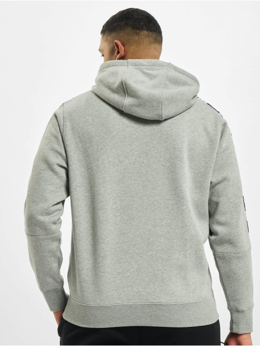 Nike Толстовка M Nsw Repeat Flc Po Bb серый