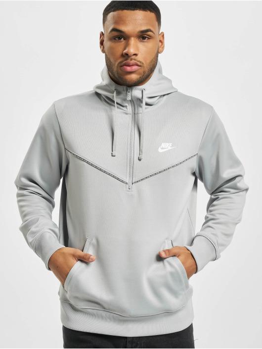 Nike Толстовка M Nsw Repeat Pk Hz серый