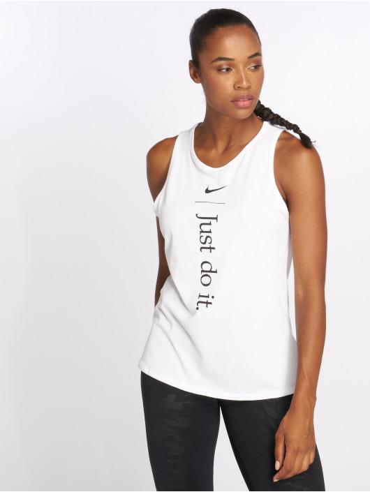 Nike Топ Dry белый
