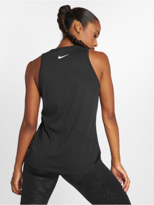 Nike Топ Dry черный
