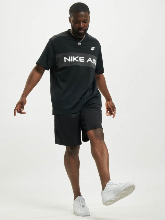 Nike Топ Mesh черный