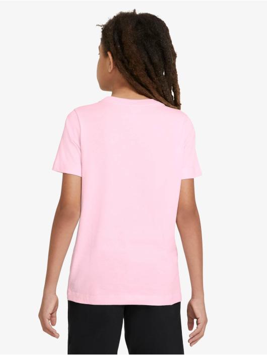 Nike Футболка Swoosh розовый