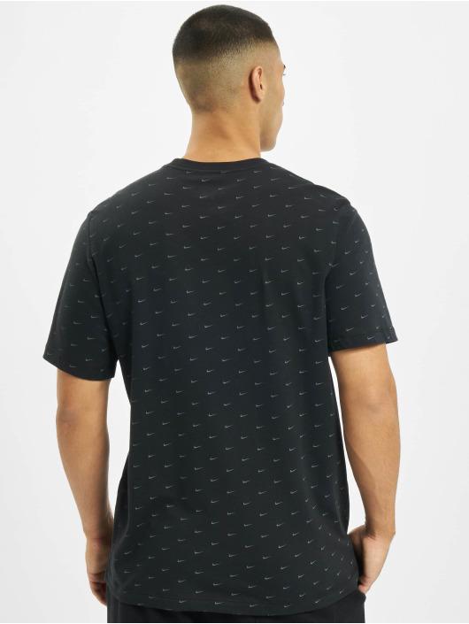 Nike Футболка Sportswear Swoosh черный