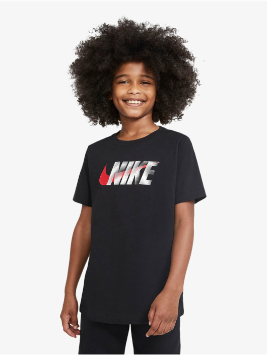 Nike Футболка Swoosh черный