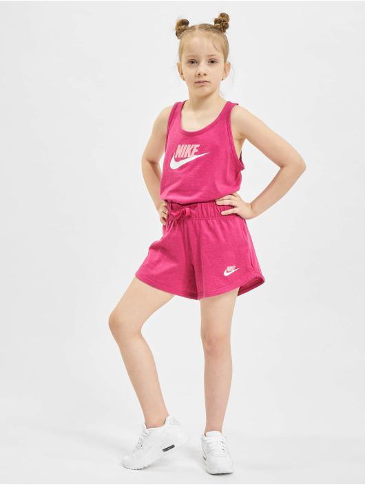 Nike Шорты G Nsw 4in Short Jersey лаванда
