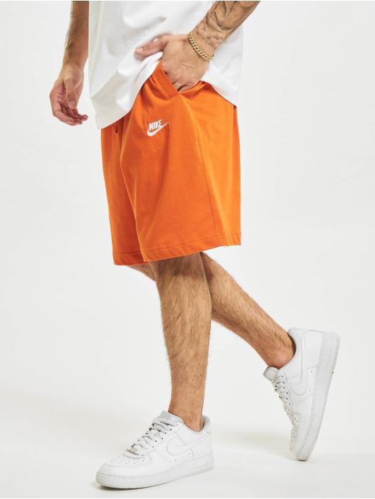 Nike Шорты Club оранжевый