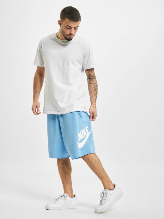 Nike Шорты M Nsw He Short Ft Alumni синий