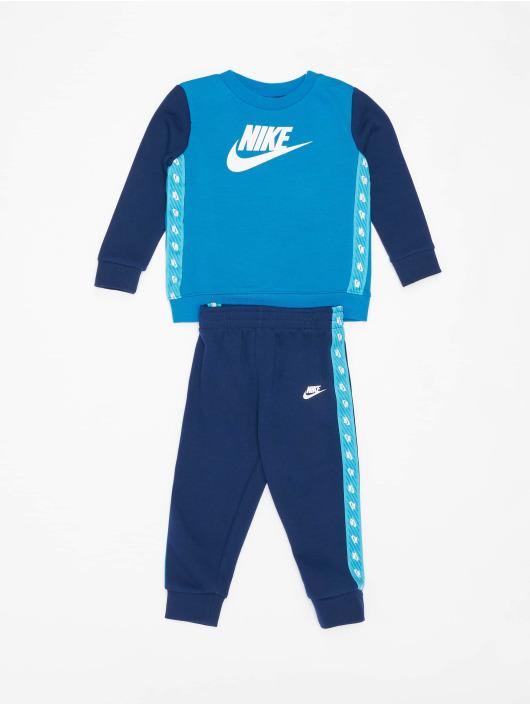 Nike Anzug Elevated Trims Crew blau