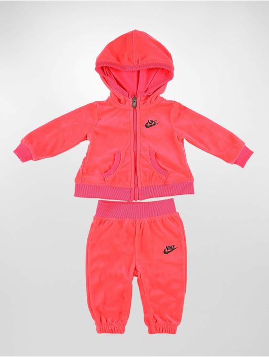 Nike Anzug Velour pink