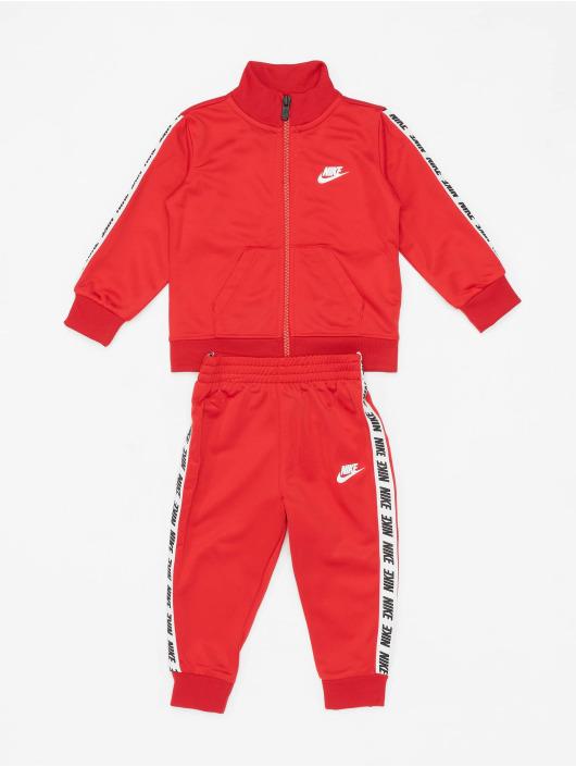 Nike Anzug Block Taping rot