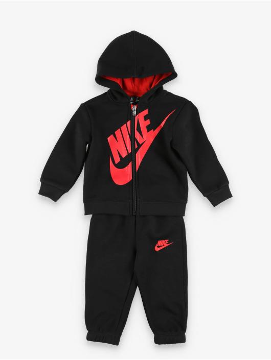 Nike Anzug Sueded Flce Futura schwarz