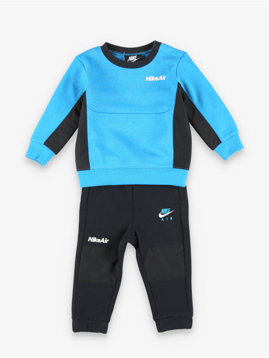 Nike Anzug Air Crew Set schwarz