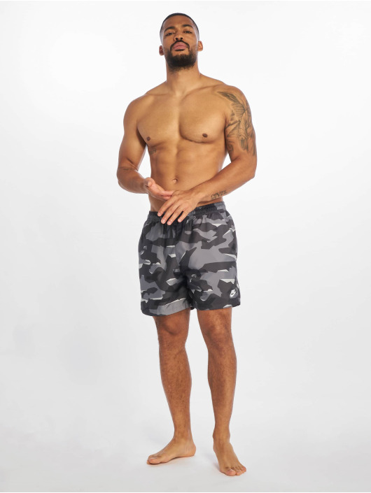 Nike Badeshorts CE Camo Woven grau